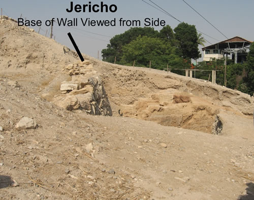 Jericho - The Base of the Wall