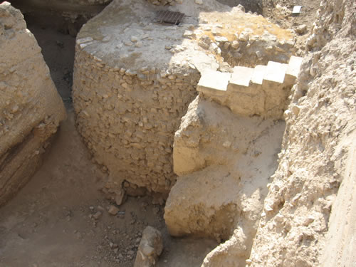 Jericho Tower from the Neolithic Period of 8300-8000 BC