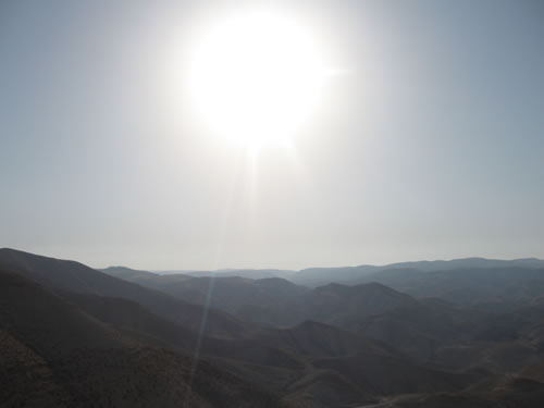 Landscape outside Jericho
