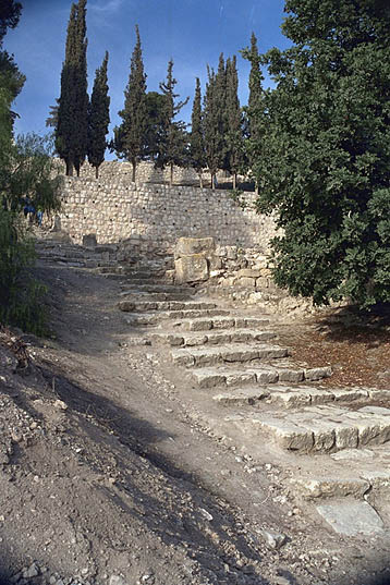 36 Steps to the House of Caiaphas
