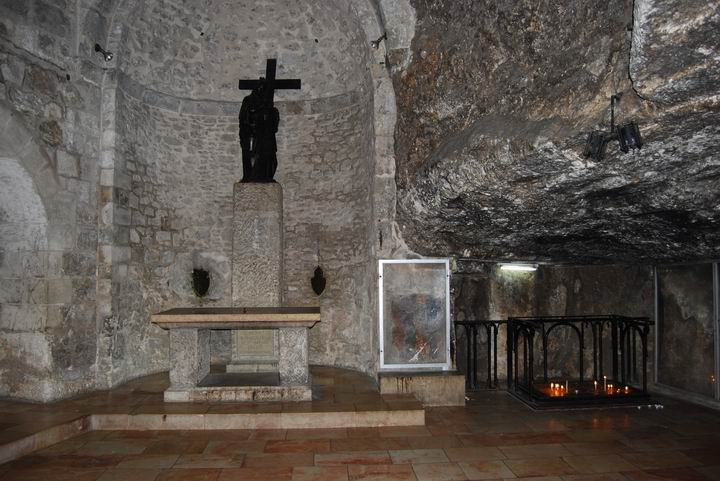 Finding of the cross chamber