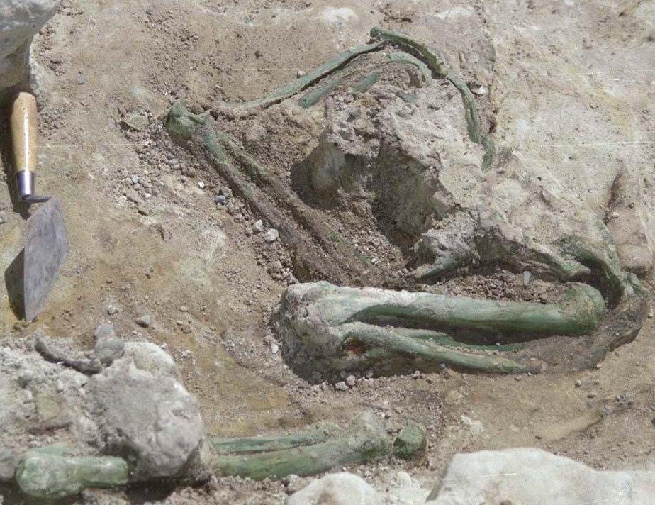 1990 burial